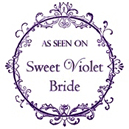 As seen on Sweet Violet Bride